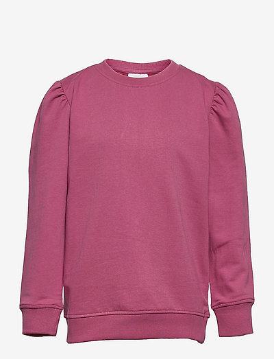 EXIT PUFF SWEATSHIRT - sweatshirts - heather rose