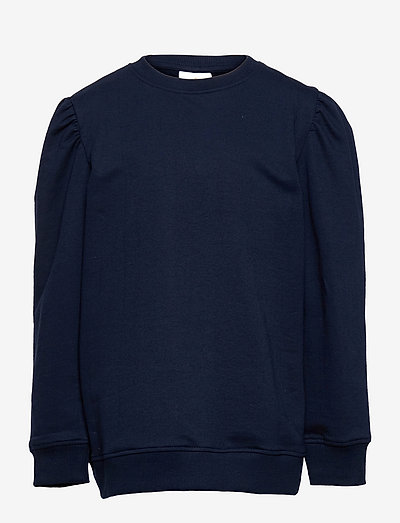 EXIT PUFF SWEATSHIRT - sweatshirts - navy blazer