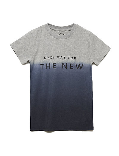 GALVIN S_S TEE - LIGHT GREY MELANGE