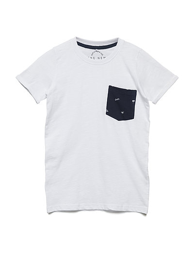 HECTOR S_S TEE - BRIGHT WHITE
