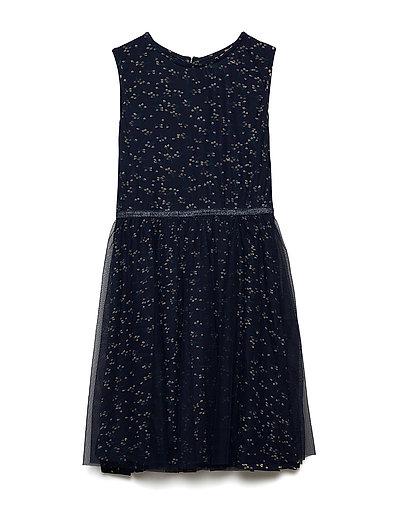 ANNA ISABELLA DRESS - BLACK IRIS