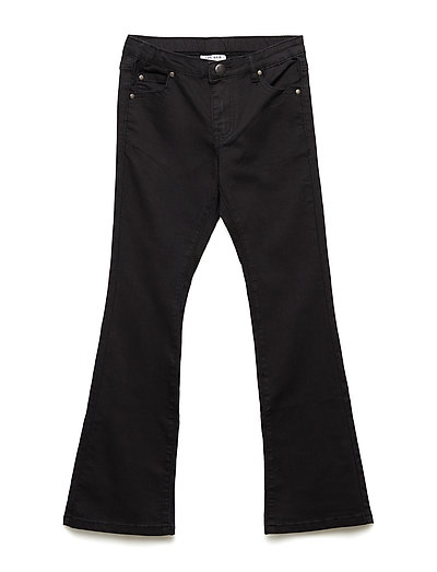 THE NEW FLARED JEANS, BLACK - BLACK
