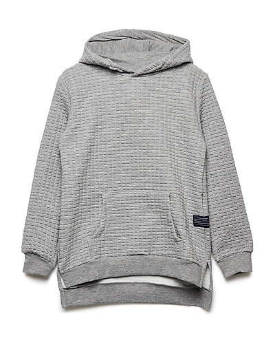 IRON HOODIE EXP - LIGHT GREY MELANGE