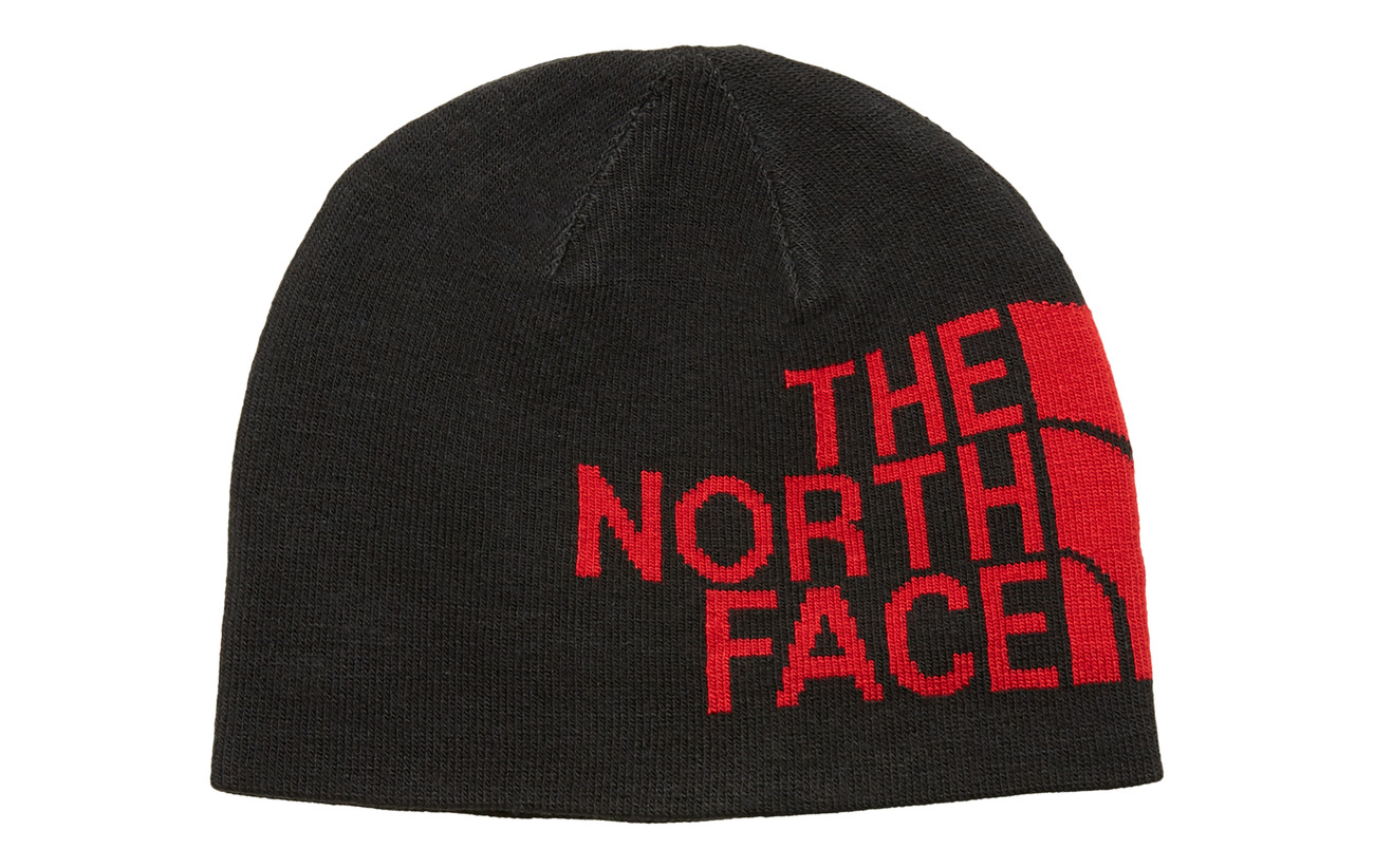 The North Face RVSBL TNF BANNER BNE - TNFBLK/TREDLOGO