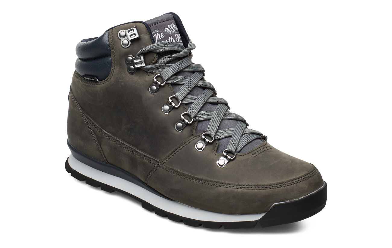The North Face M B2B REDUX LEATHER - ZINC GREY/EBONY GREY