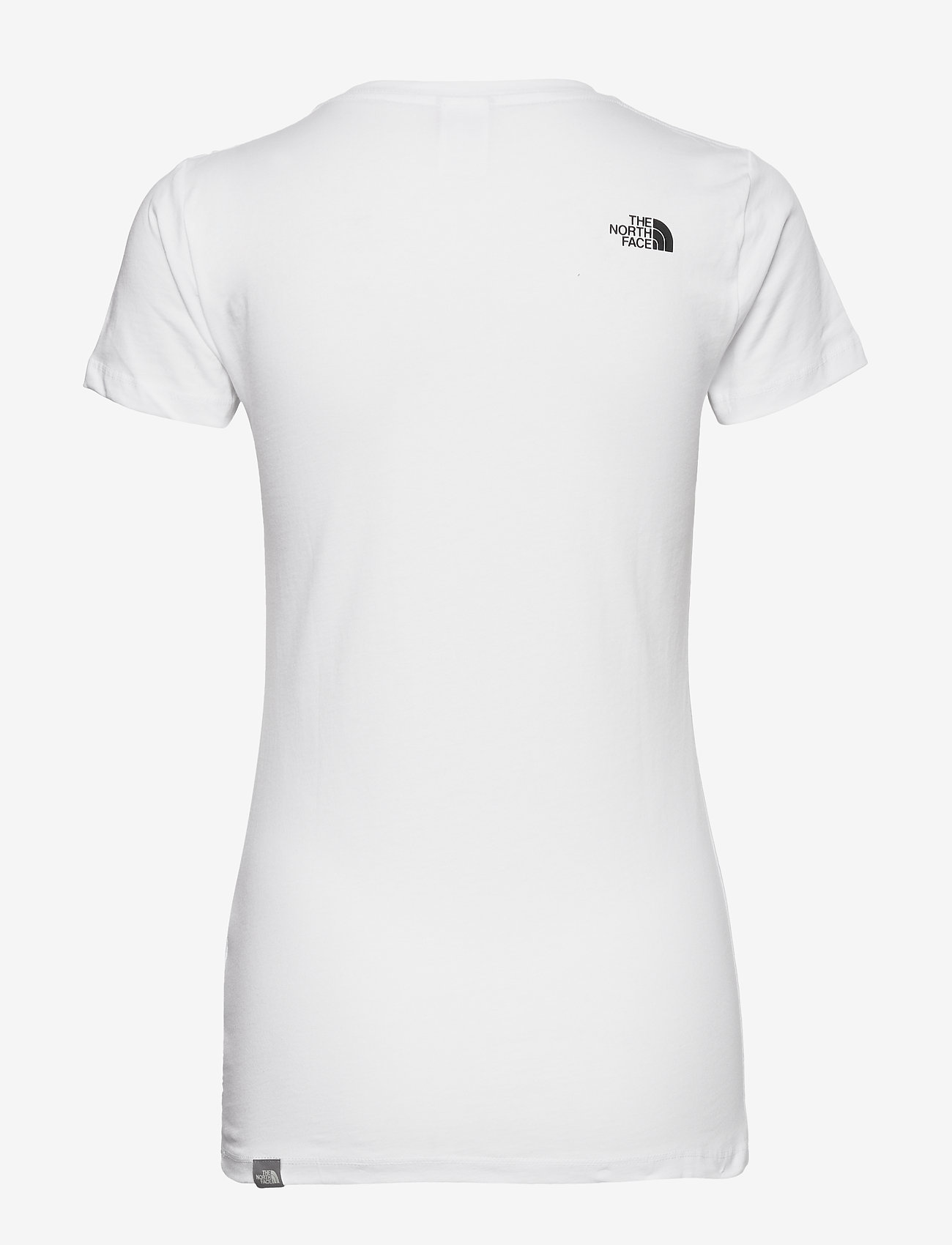 The North Face W S/S EASY TEE - T-shirts & topper TNFWHIT/TNFWHIT - Dameklær Spesialtilbud