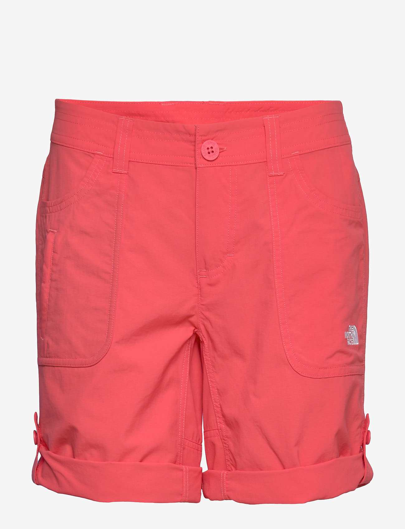 The North Face W HORIZON SUNNYSIDE - Shorts CAYENNE RED - Dameklær Spesialtilbud