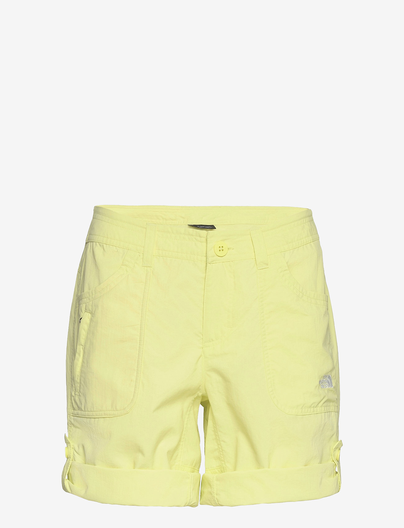 The North Face - W HORIZON SUNNYSIDE - wandel korte broek - pale lime yellow - 0