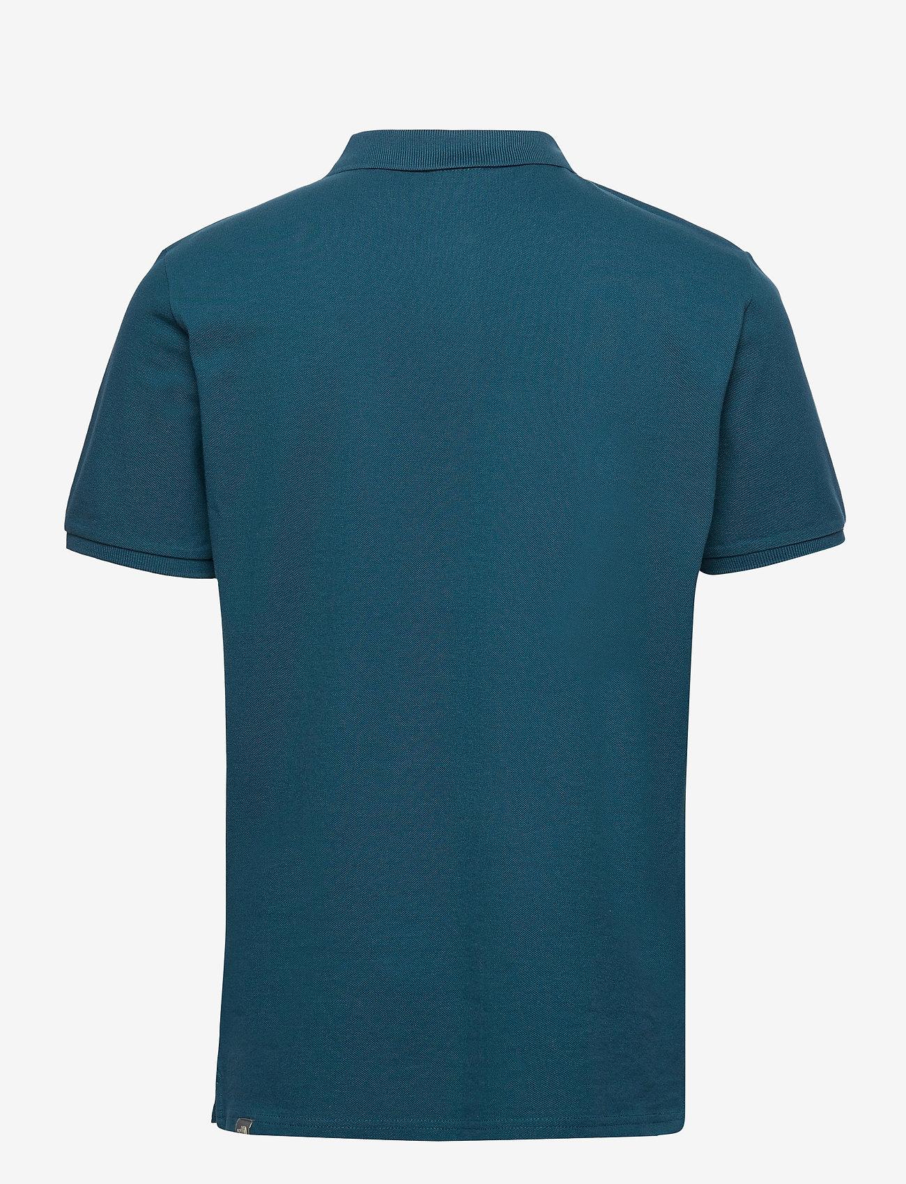 The North Face - M POLO PIQUET - polos à manches courtes - monterey blue - 1