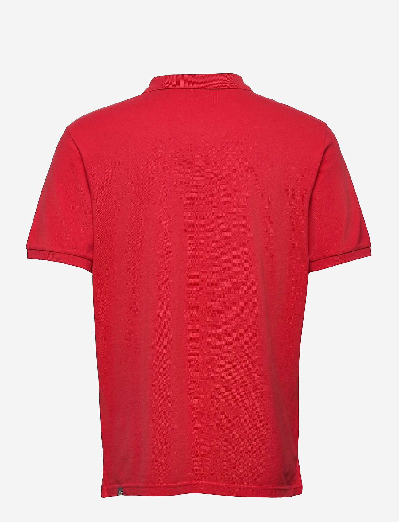 The North Face - M POLO PIQUET - polos à manches courtes - rococco red - 1
