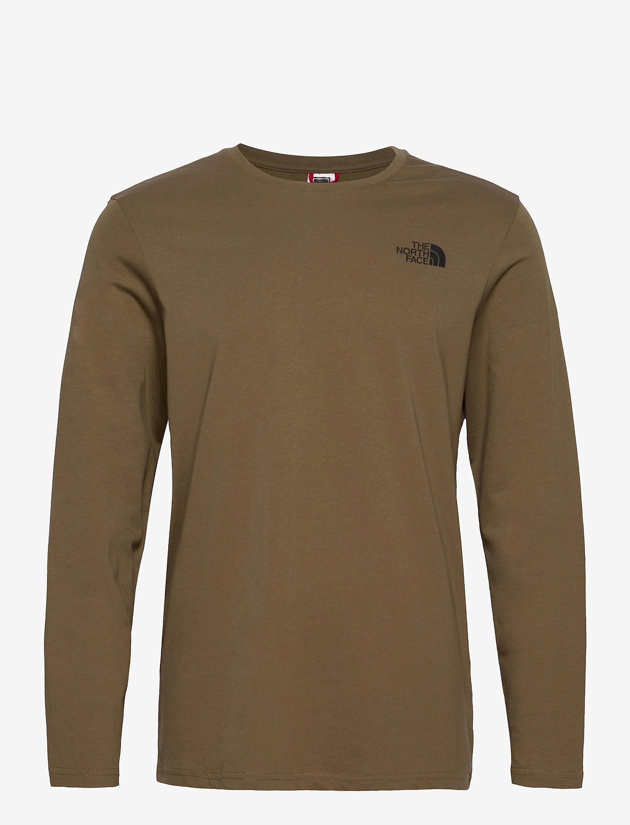 The North Face - M L/S EASY TEE - t-shirts à manches longues - military olive - 0