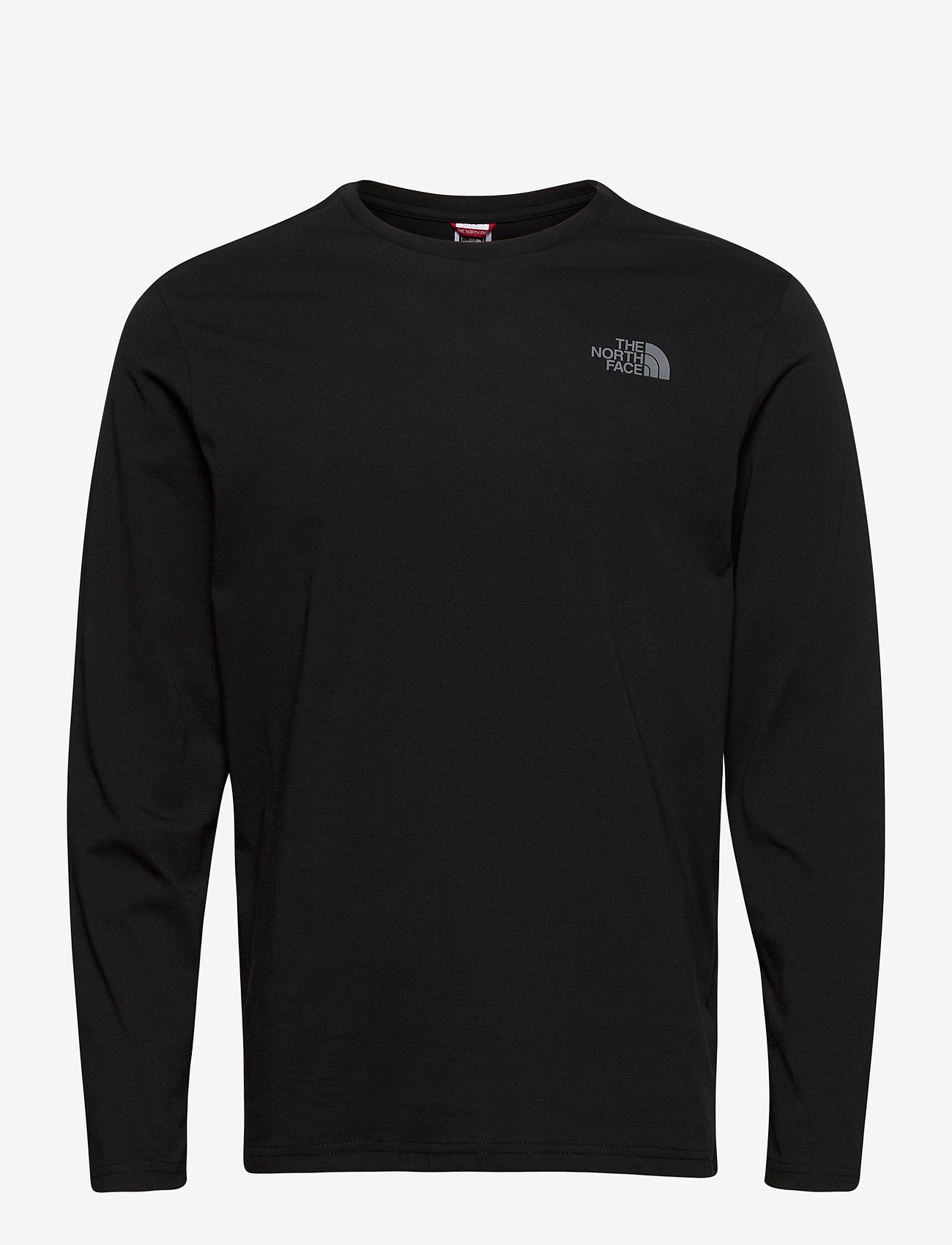 The North Face - M L/S EASY TEE - t-shirts à manches longues - tnf blk/zinc gr - 0