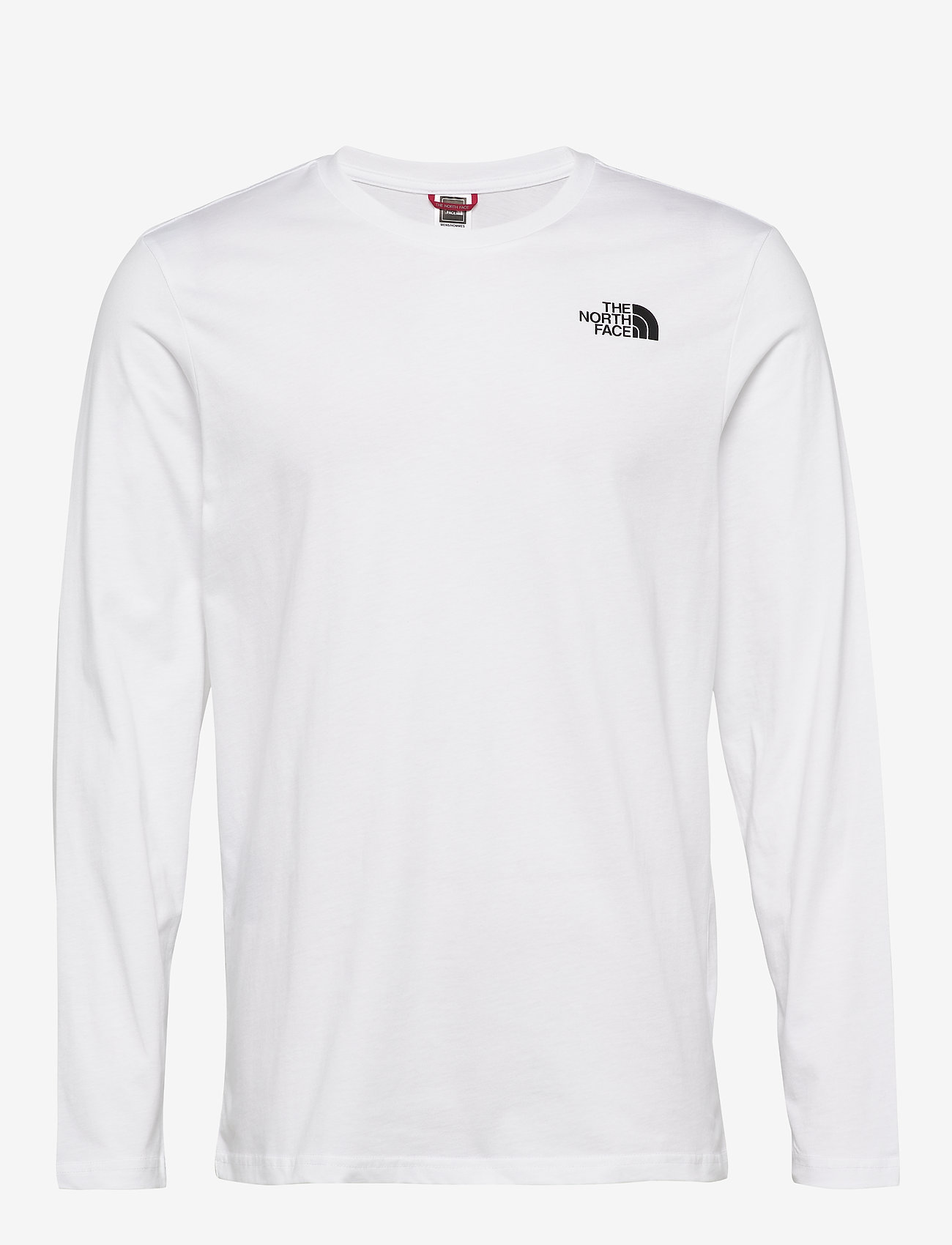 The North Face - M L/S EASY TEE - t-shirts à manches longues - tnf white - 0