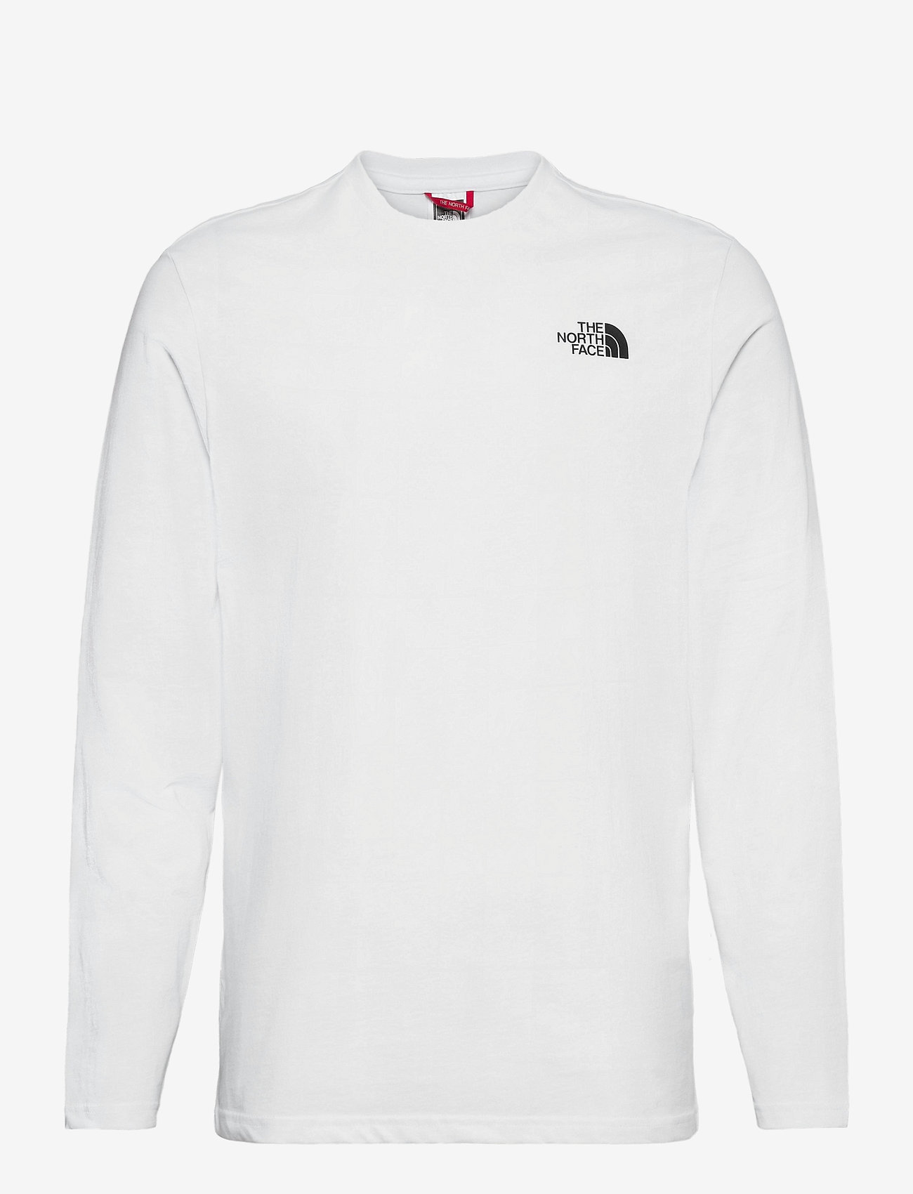 The North Face - M L/S EASY TEE - langarmshirts - tnf white/tnf black - 0