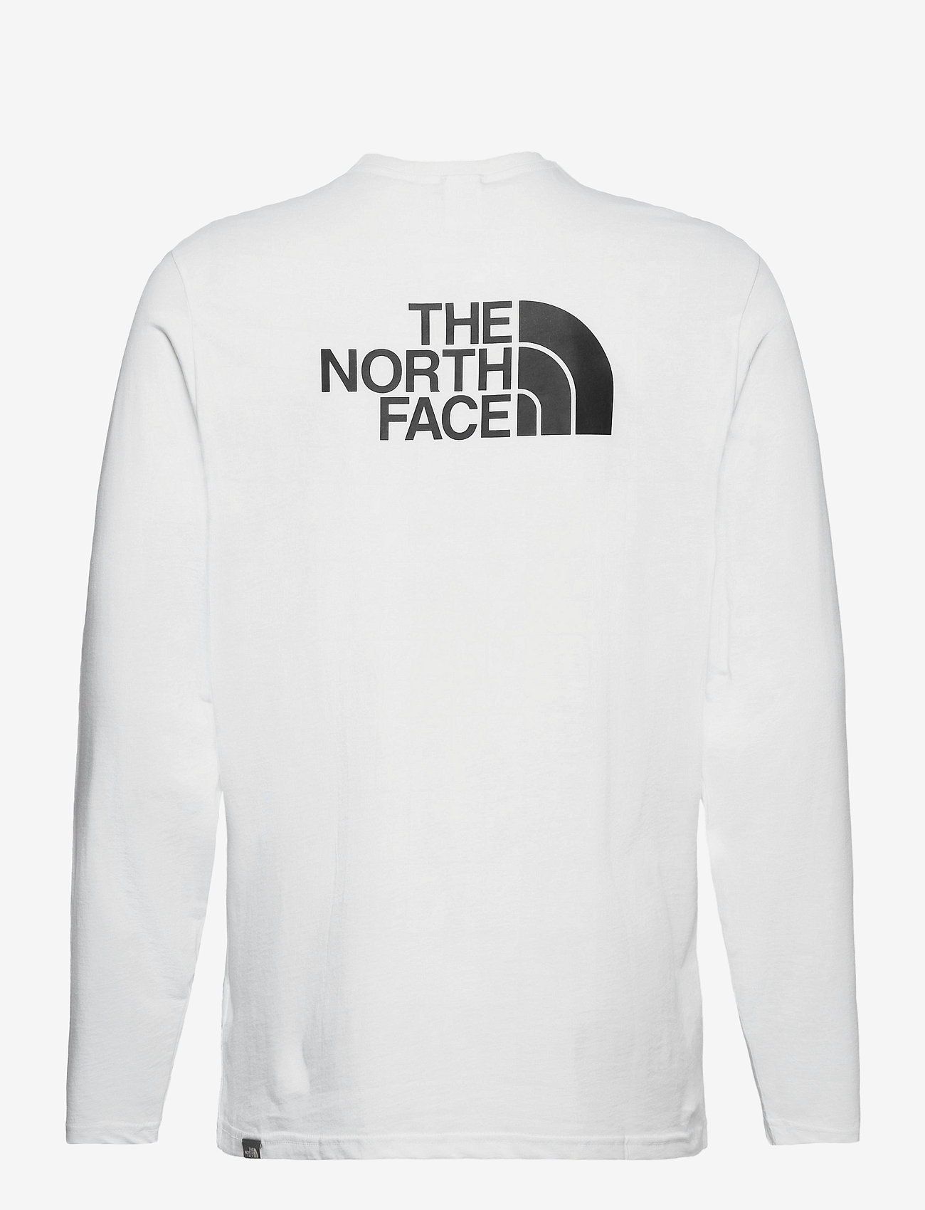 The North Face - M L/S EASY TEE - langarmshirts - tnf white/tnf black - 1