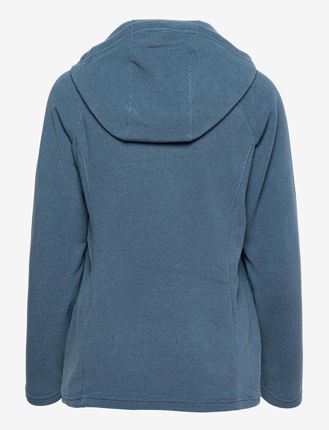 The North Face - W MEZZALUNA FLL ZP H - fleece - vintage indigo stripe - 1