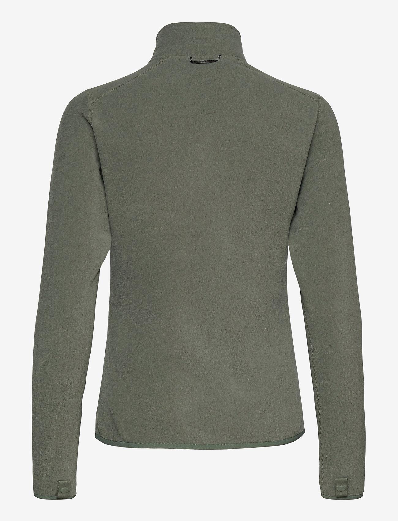 The North Face - W 100 GLACIER FULL ZIP - EU - fleece - agave green - 1