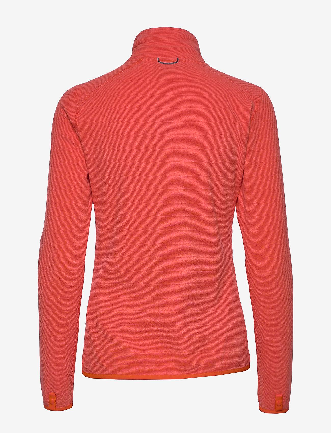 The North Face - W 100 GLACIER FULL ZIP - EU - fleece midlayer - cayenne red - 1