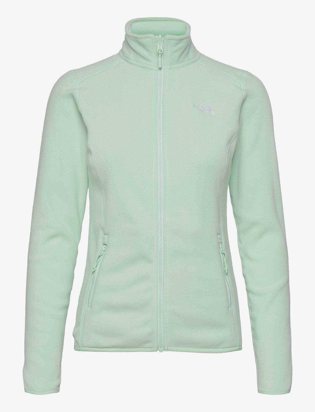 The North Face - W 100 GLACIER FULL ZIP - EU - fleece - misty jade - 0