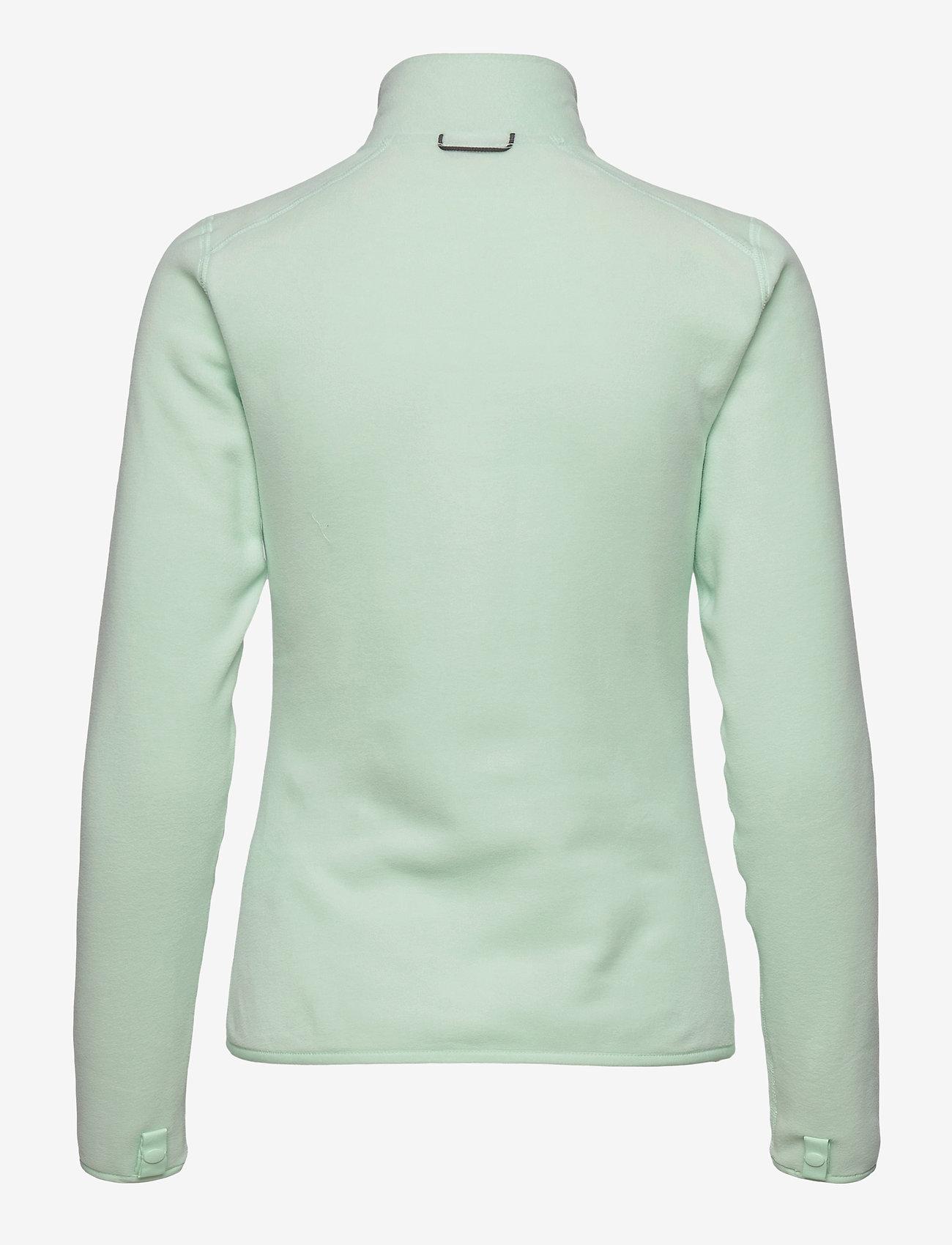 The North Face - W 100 GLACIER FULL ZIP - EU - fleece - misty jade - 1