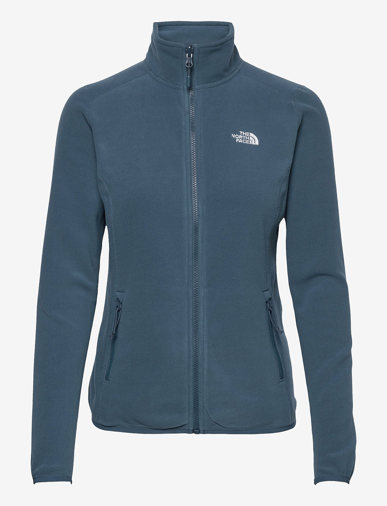 The North Face - W 100 GLACIER FULL ZIP - EU - fleece - monterey blue - 0