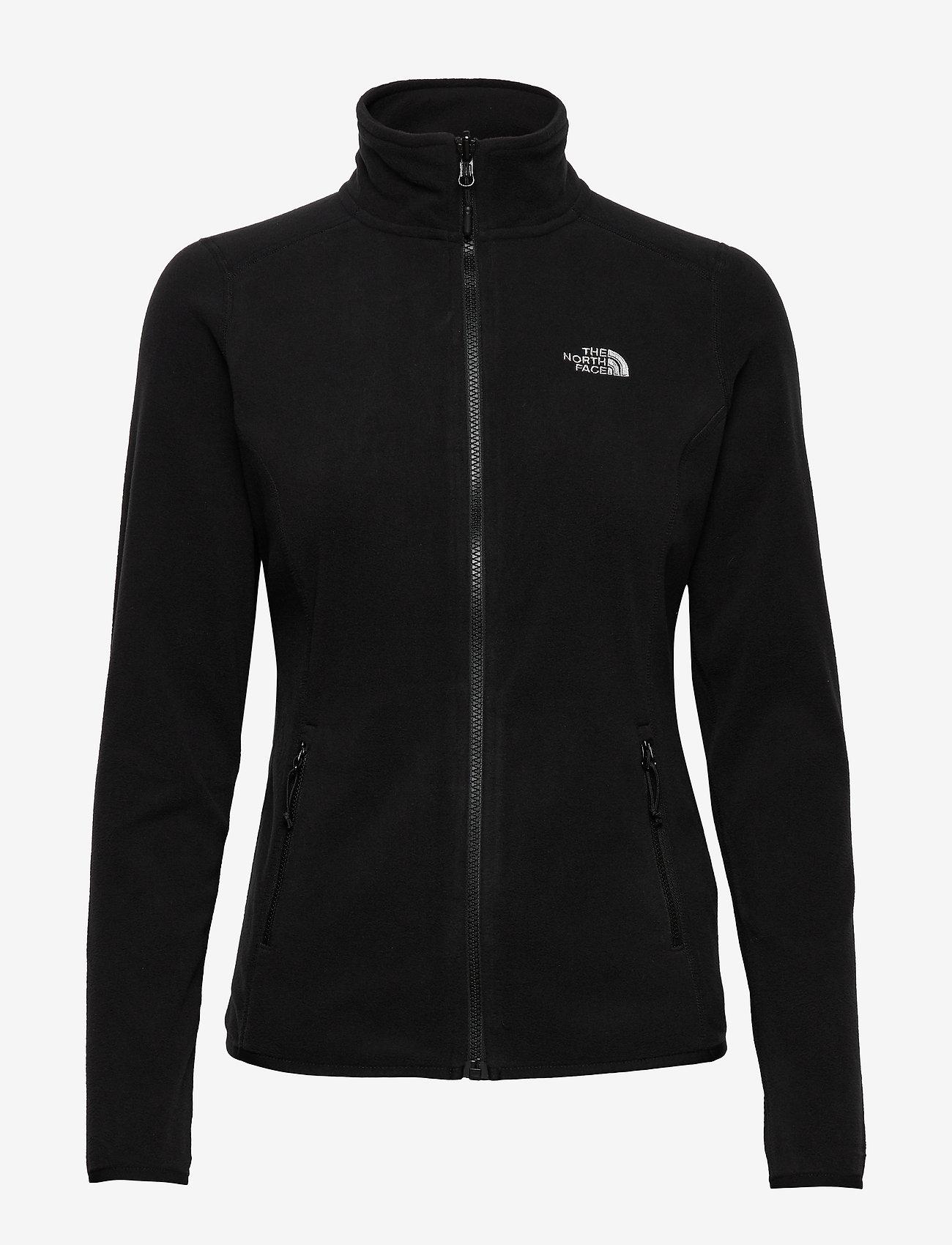 The North Face - W 100 GLACIER FULL ZIP - EU - fleece - tnf black - 0