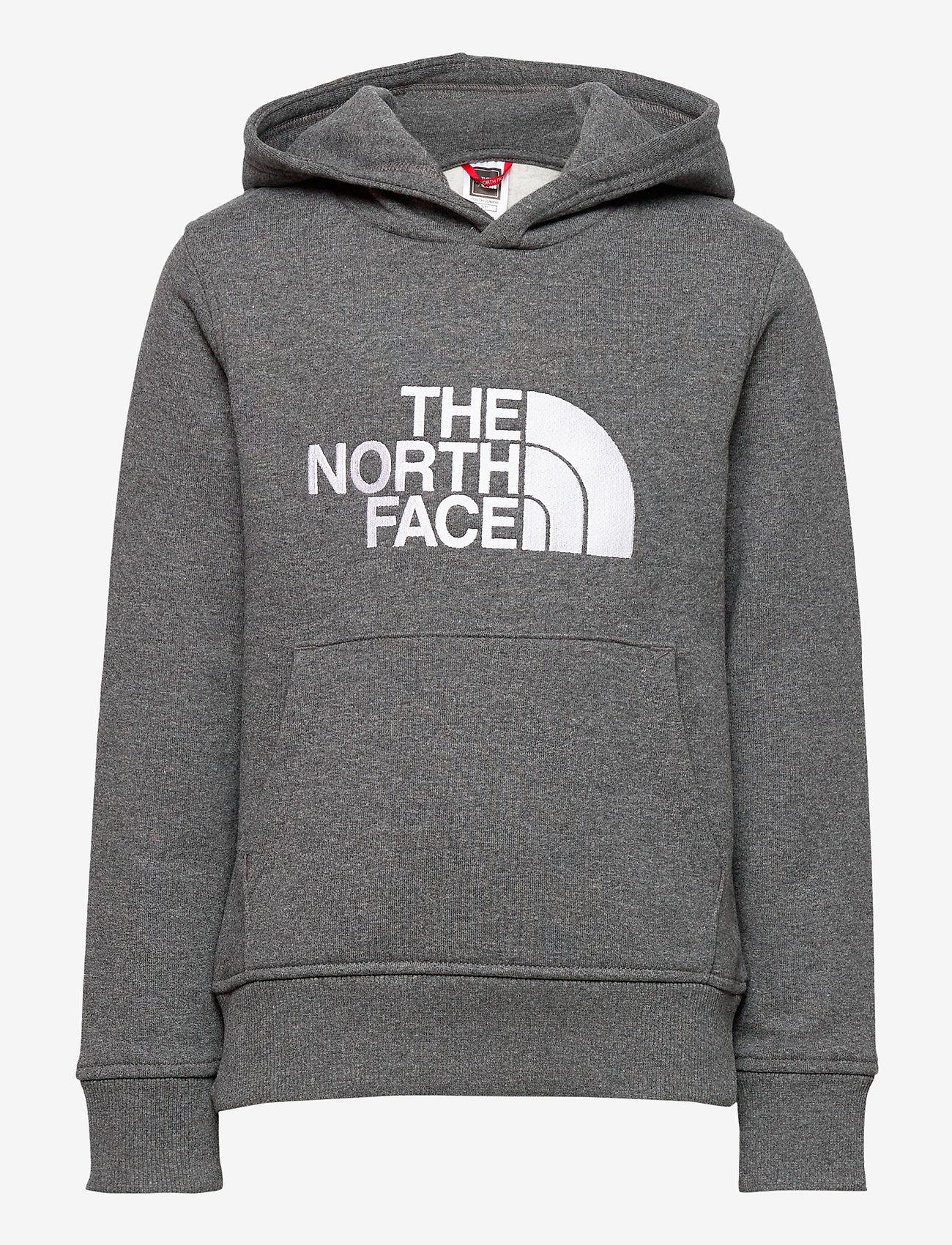 The North Face - Y DREW PEAK P/O HD - hoodies - tnf medium grey heather - 0