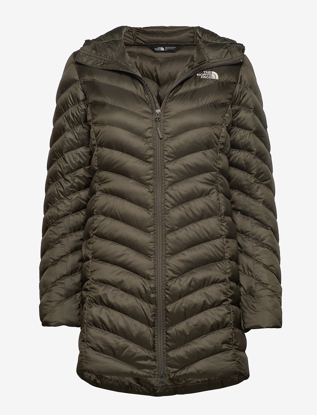The North Face - W TREVAIL PARKA - kurtki puchowe - new taupe green - 0