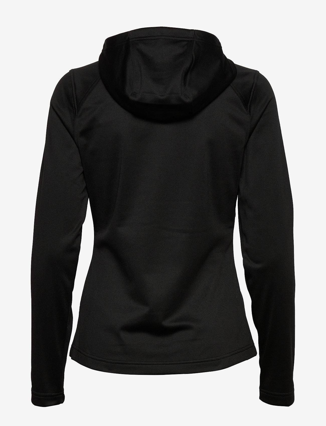 The North Face - W TECH MEZZALUNA HOODIE - EU - fleece - tnf black - 1