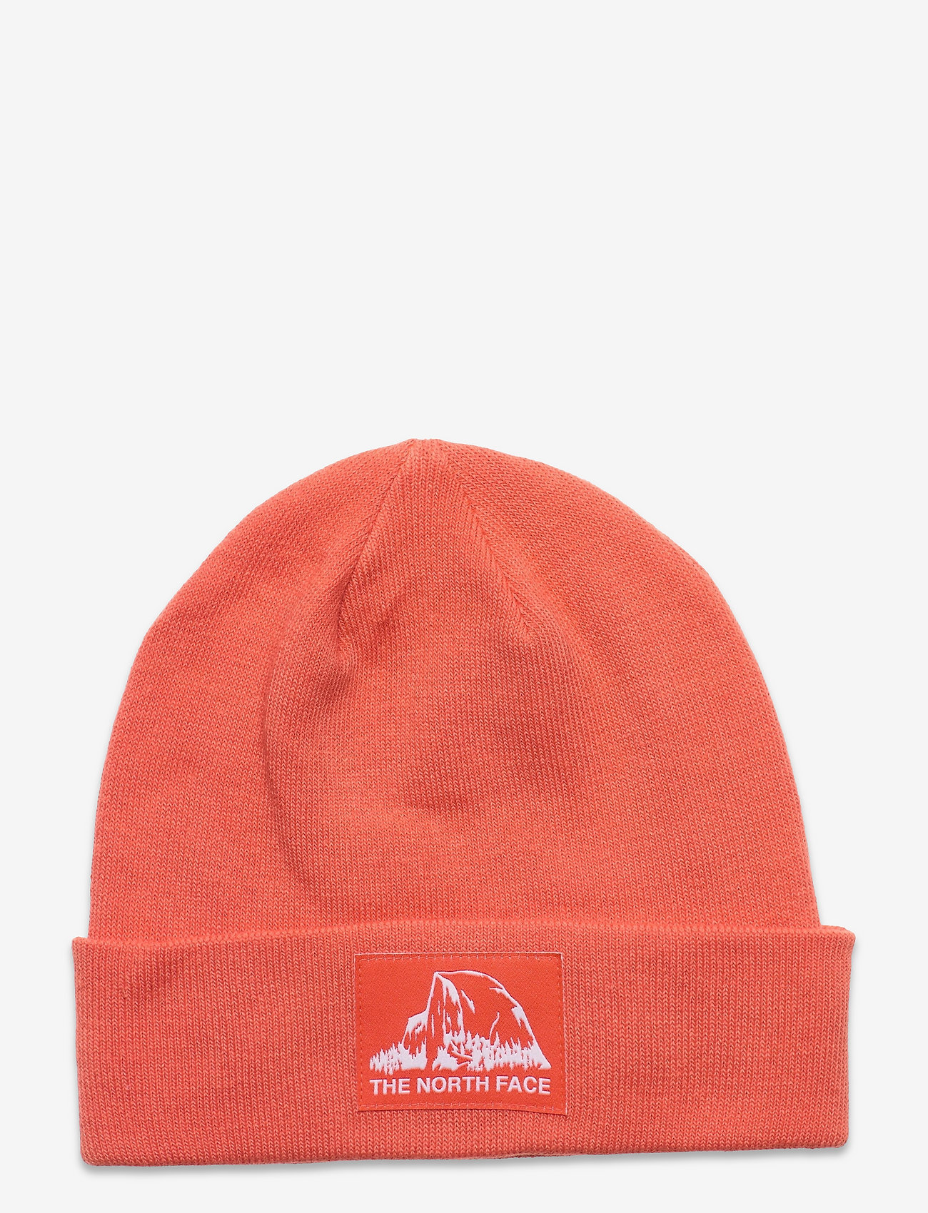 The North Face - DOCKWKR RCYLD BEANIE - mössor - emberglow ornge - 0
