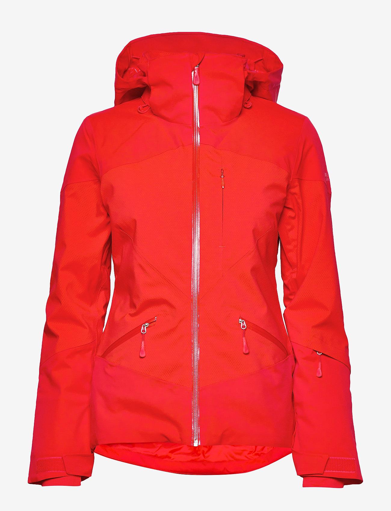 W Lenado Jacket Fiery Red (Fiery Red) - The North Face CZ1xIC