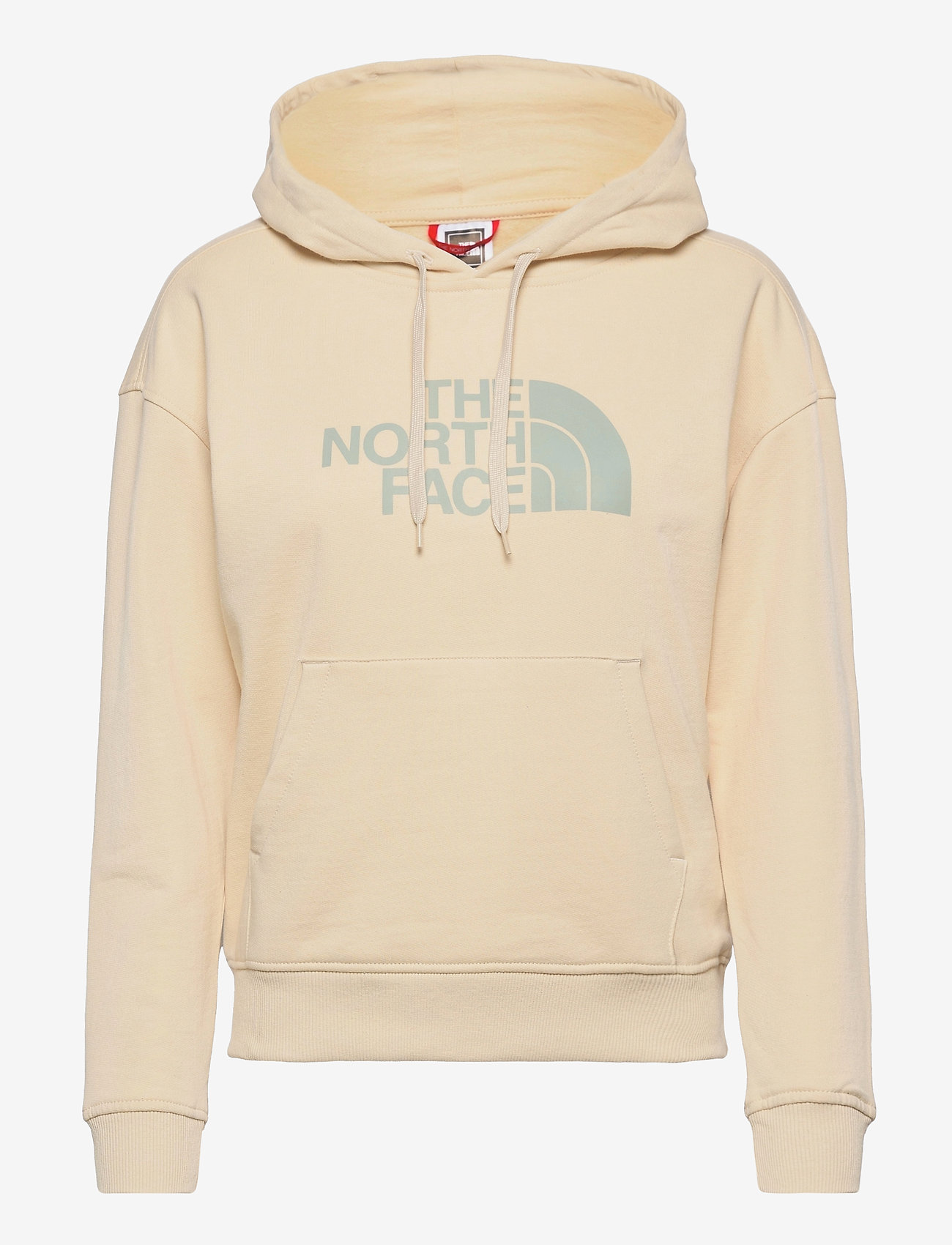 The North Face - W LHT DREW PEAK HD - hættetrøjer - bleached sand - 0