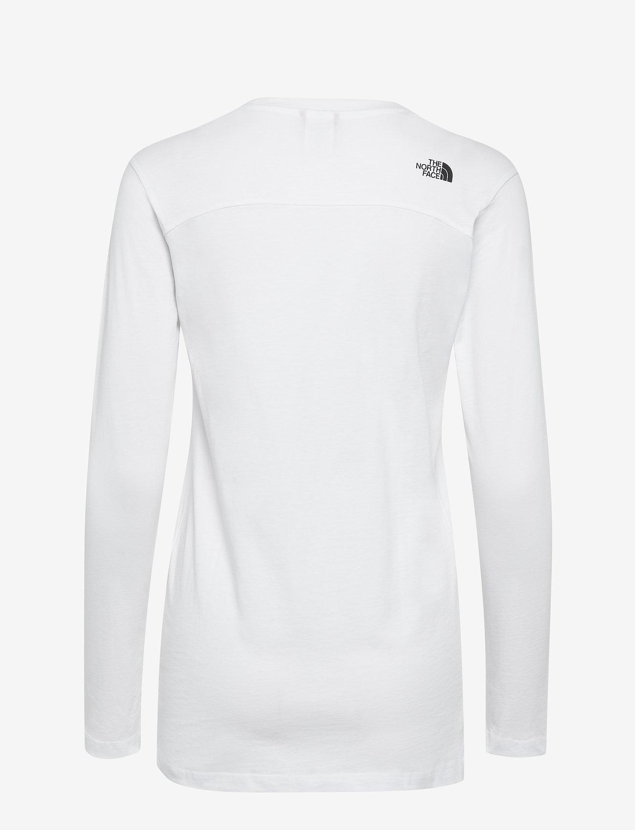 The North Face - W L/S SIMPLEDOME TEE - bluzki z długim rękawem - tnf white - 1