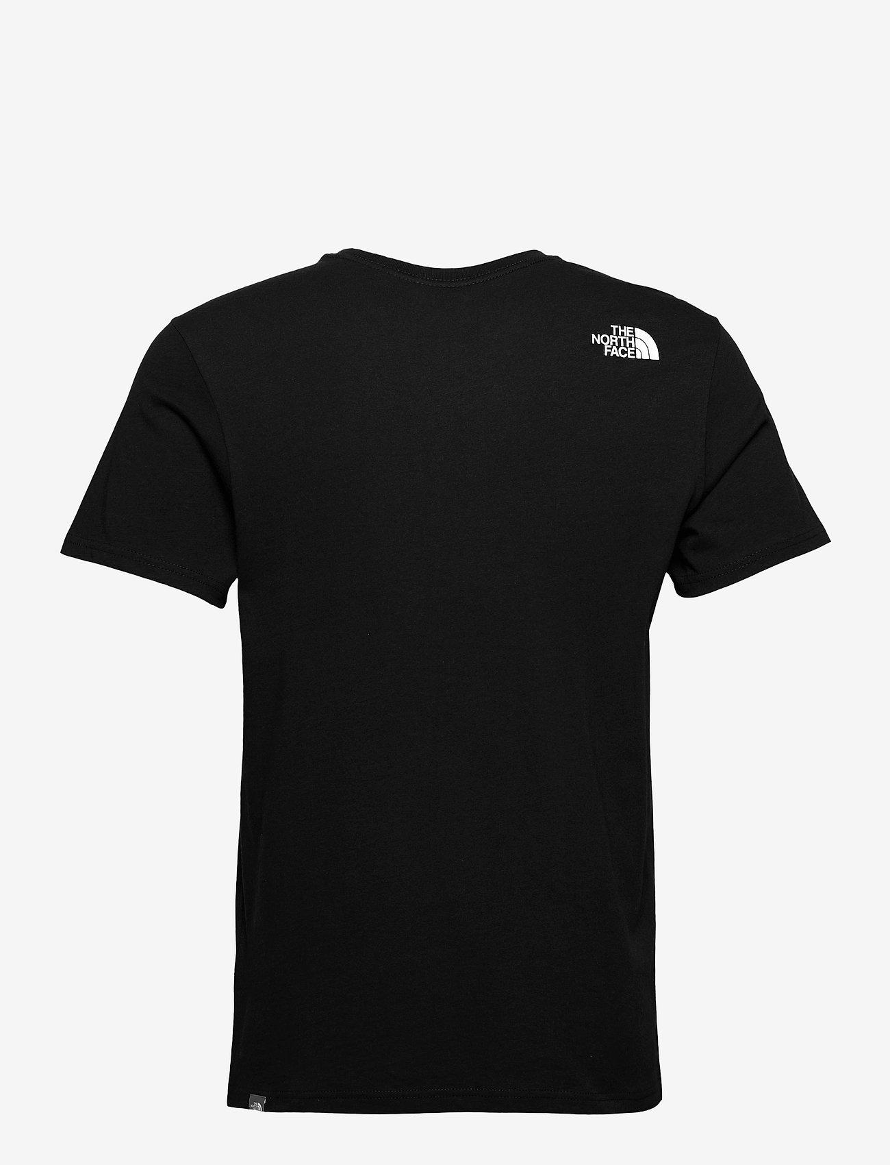 The North Face - M SS WALLS CLIMB TEE - t-shirts à manches courtes - tnf black-meld grey - 1