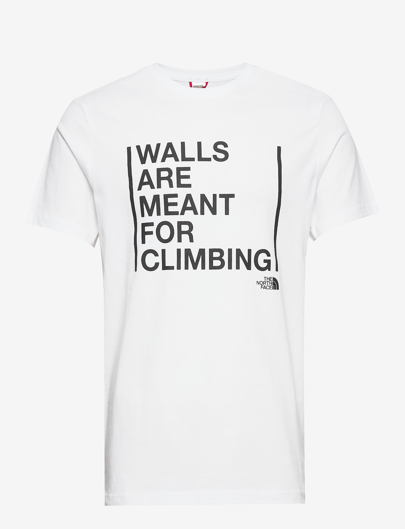 The North Face - M SS WALLS CLIMB TEE - t-shirts à manches courtes - tnf white - 0
