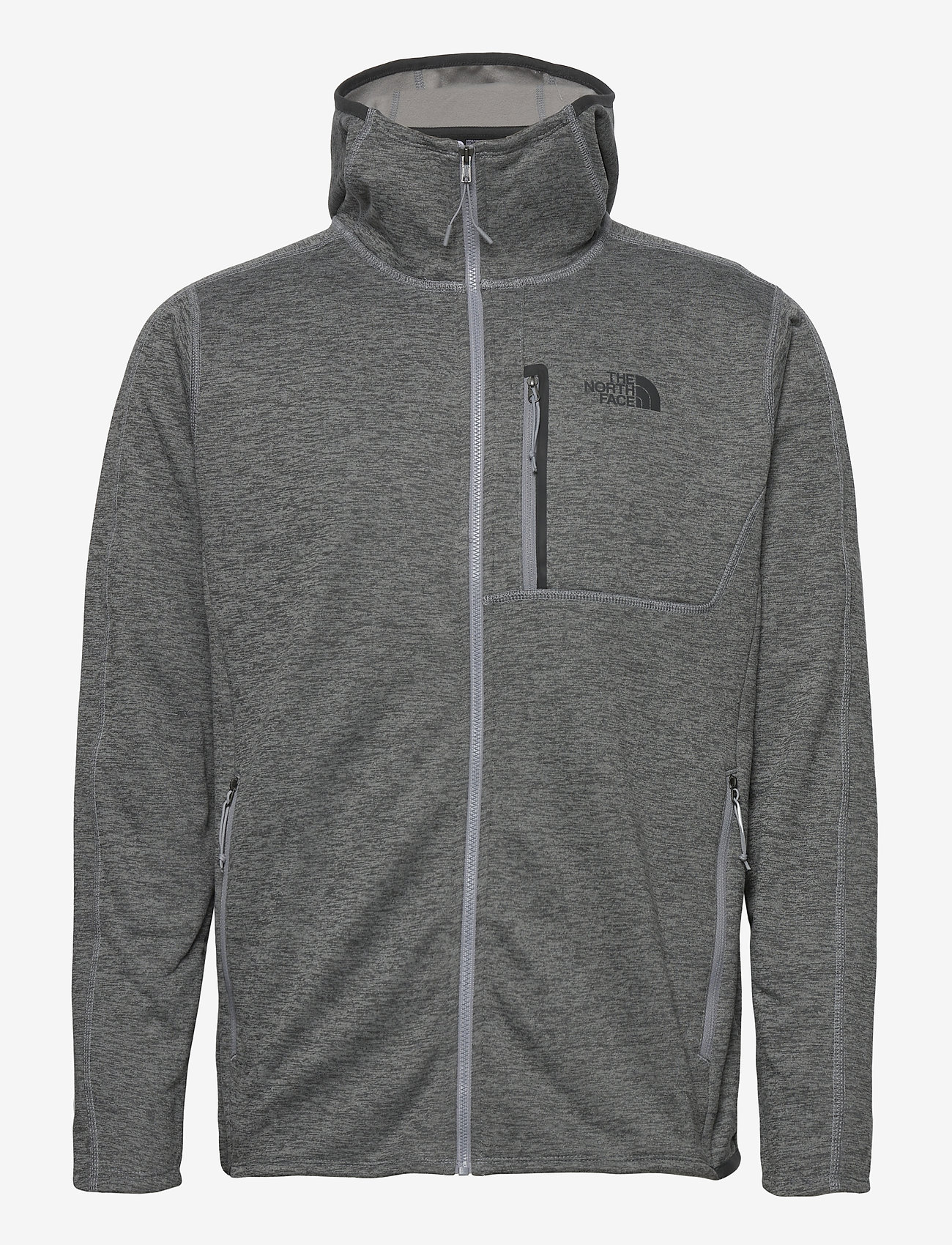 The North Face - M CYNLNDS HDIE - fleece - tnfmediumgryhtr - 0