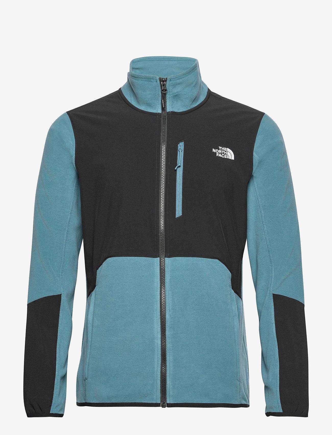 The North Face - M GLACIER PRO FULL Z - mid layer jackets - mallard blue/tnf black - 0