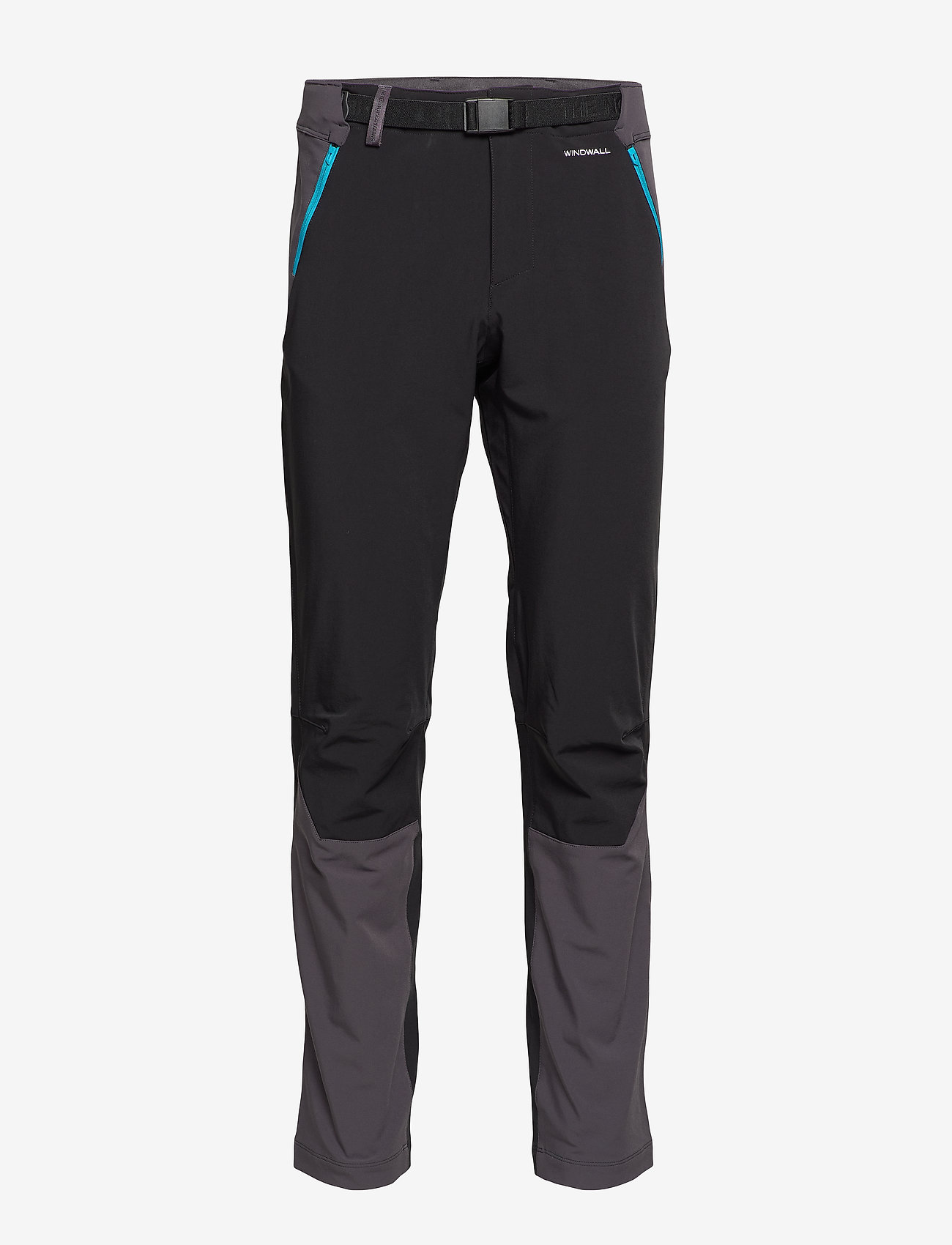 The North Face - M DIABLO II PANT - softshell pants - tnf black/acous - 0