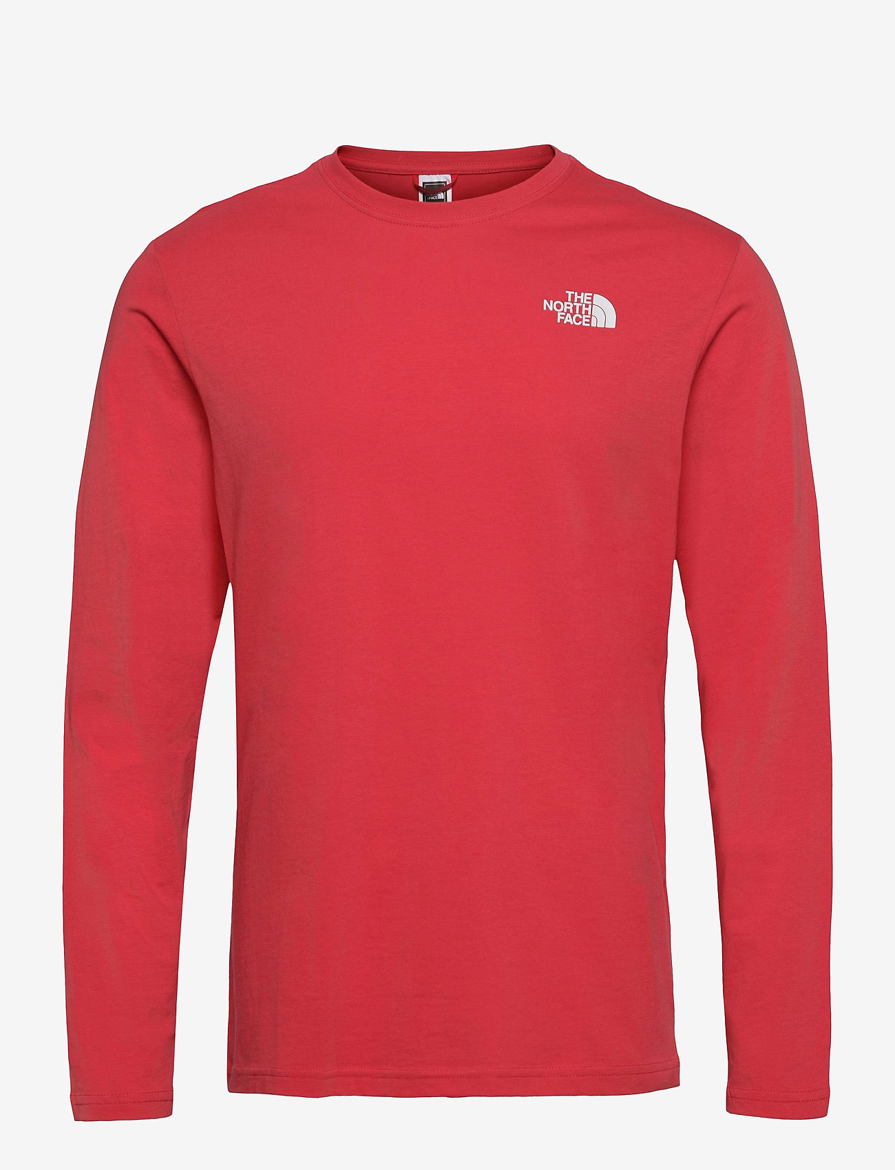 The North Face - M L/S RED BOX TEE - t-shirts à manches longues - rococco red - 0