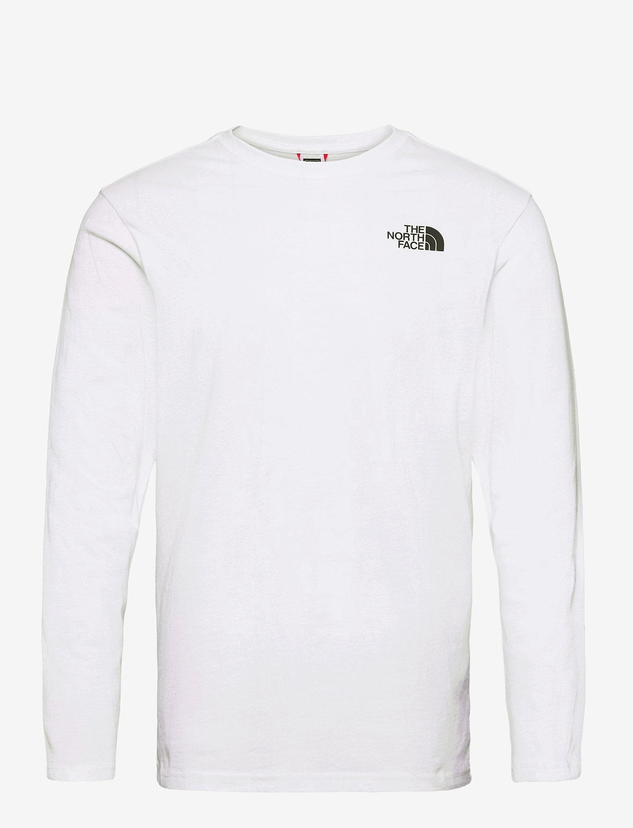 The North Face - M L/S RED BOX TEE - t-shirts à manches longues - tnf white - 0