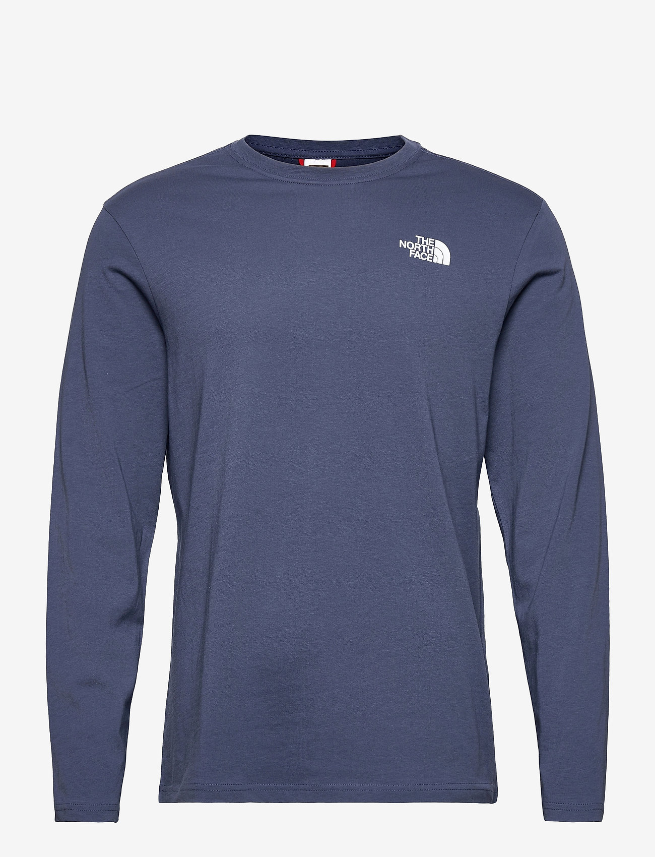 The North Face - M L/S RED BOX TEE - t-shirts à manches longues - vintage indigo - 0