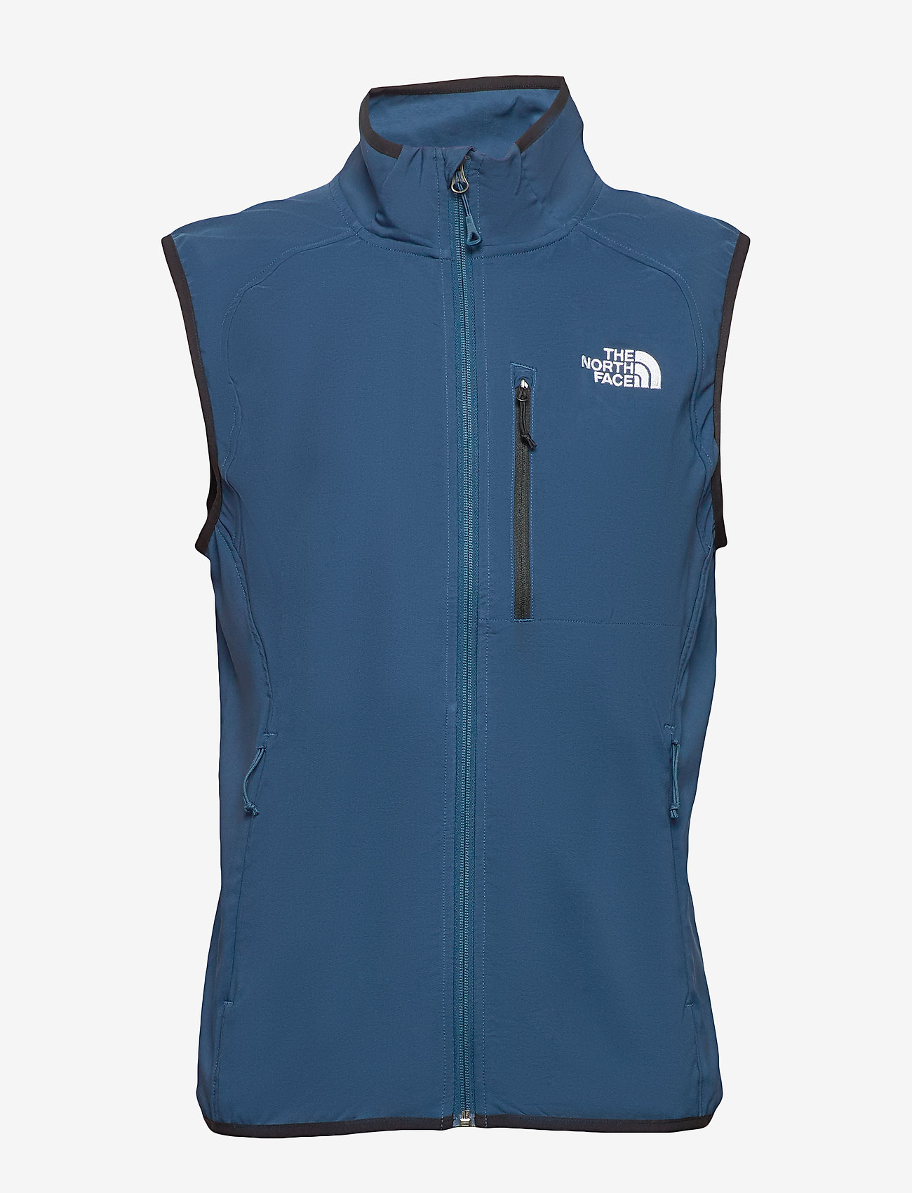 The North Face - M NIMBLE VEST - EU - softshell jassen - blue wing teal - 1