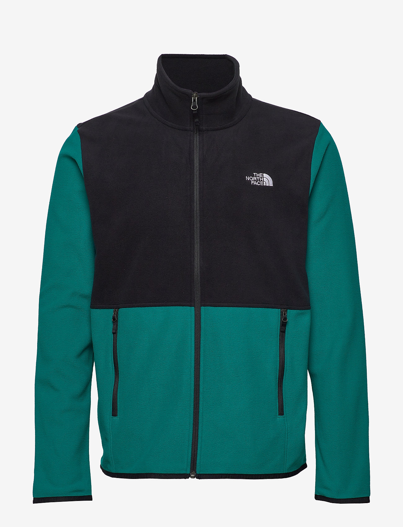 The North Face - M TKAGLCR FZJKT - fleece midlayer - fanfregn/tnfblk - 0