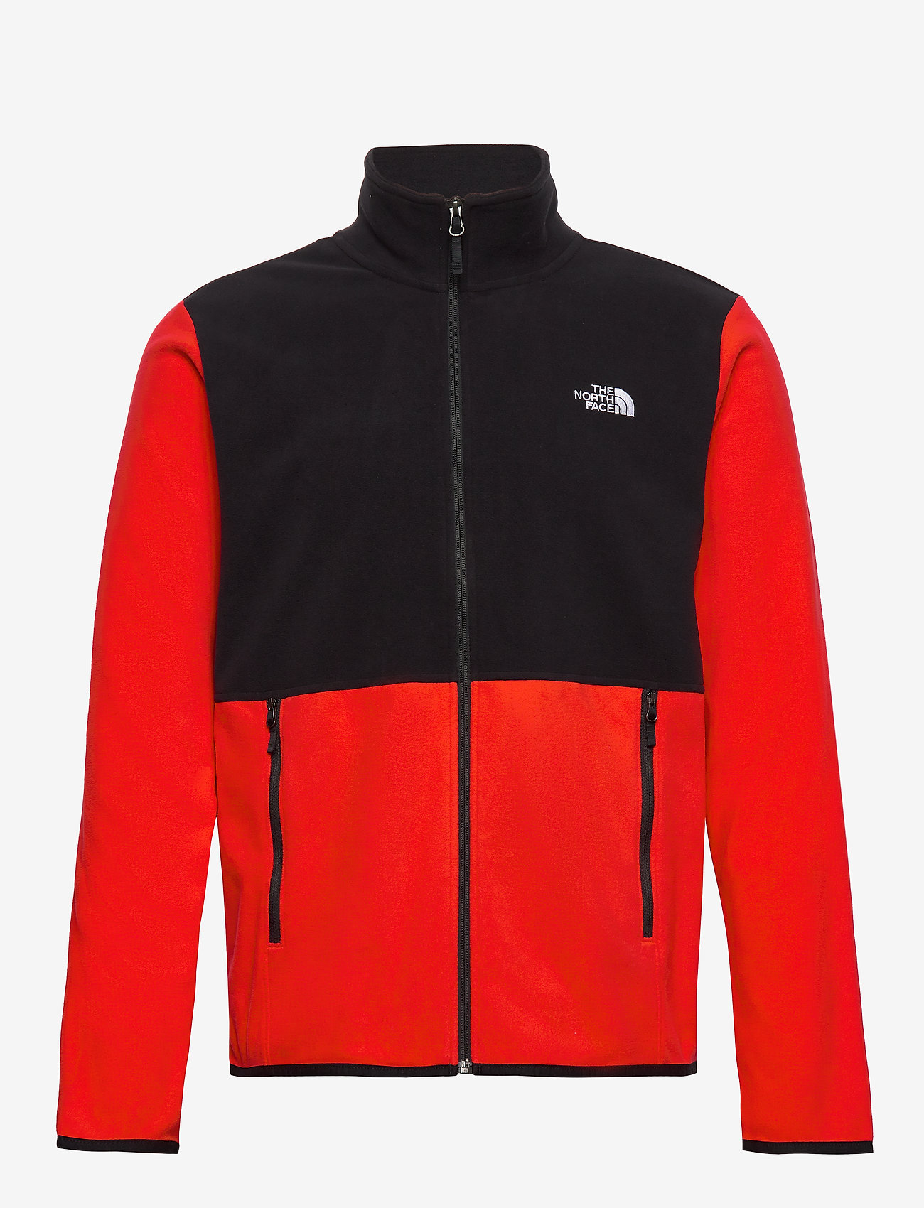 The North Face - M TKAGLCR FZJKT - mittlere lage aus fleece - fieryrd/tnfblk - 0