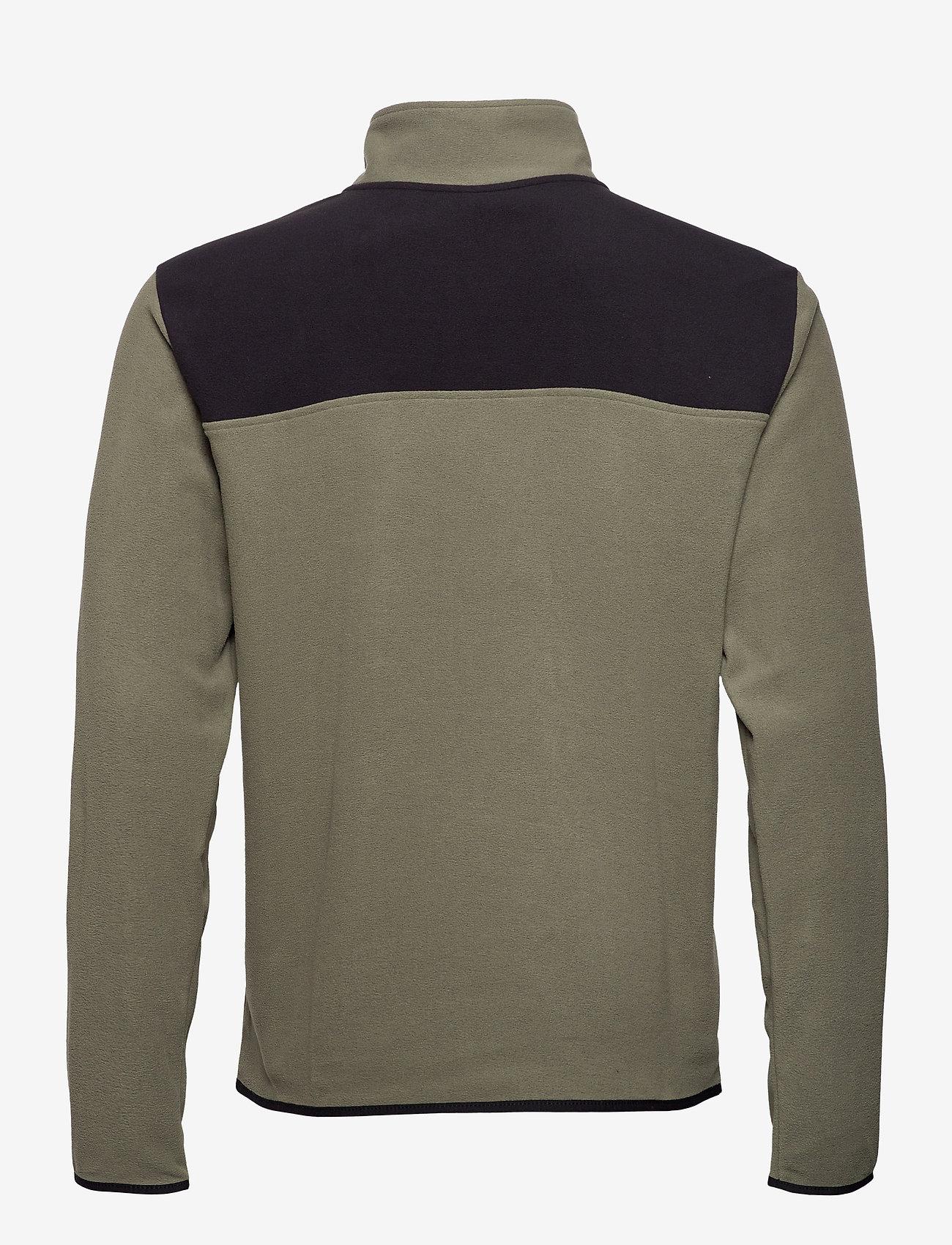 The North Face - M TKAGLCR SNPNK PO - basic-sweatshirts - nwtpegrn/tnfblk - 1