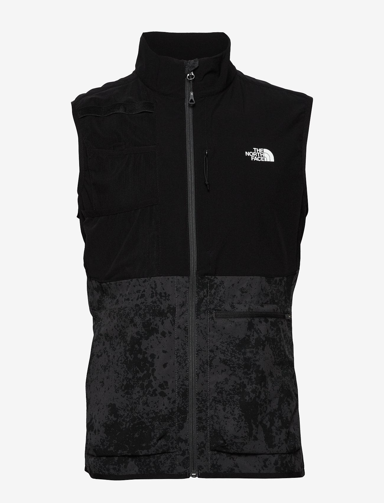 The North Face - M VARUNA VEST - softshell jackets - asphtgygrungept - 0