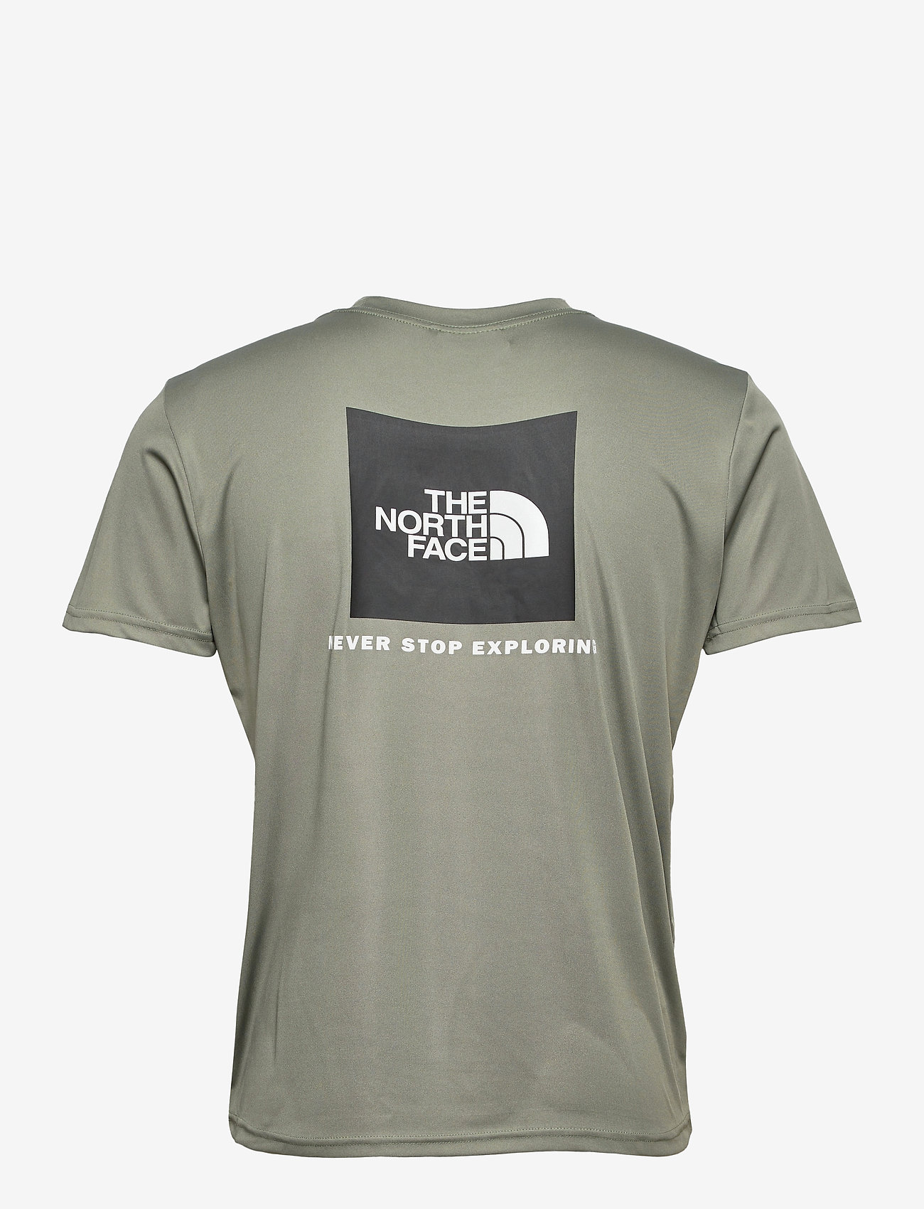 The North Face - M REAXION RED BOX TE - t-shirts à manches courtes - agave green - 1
