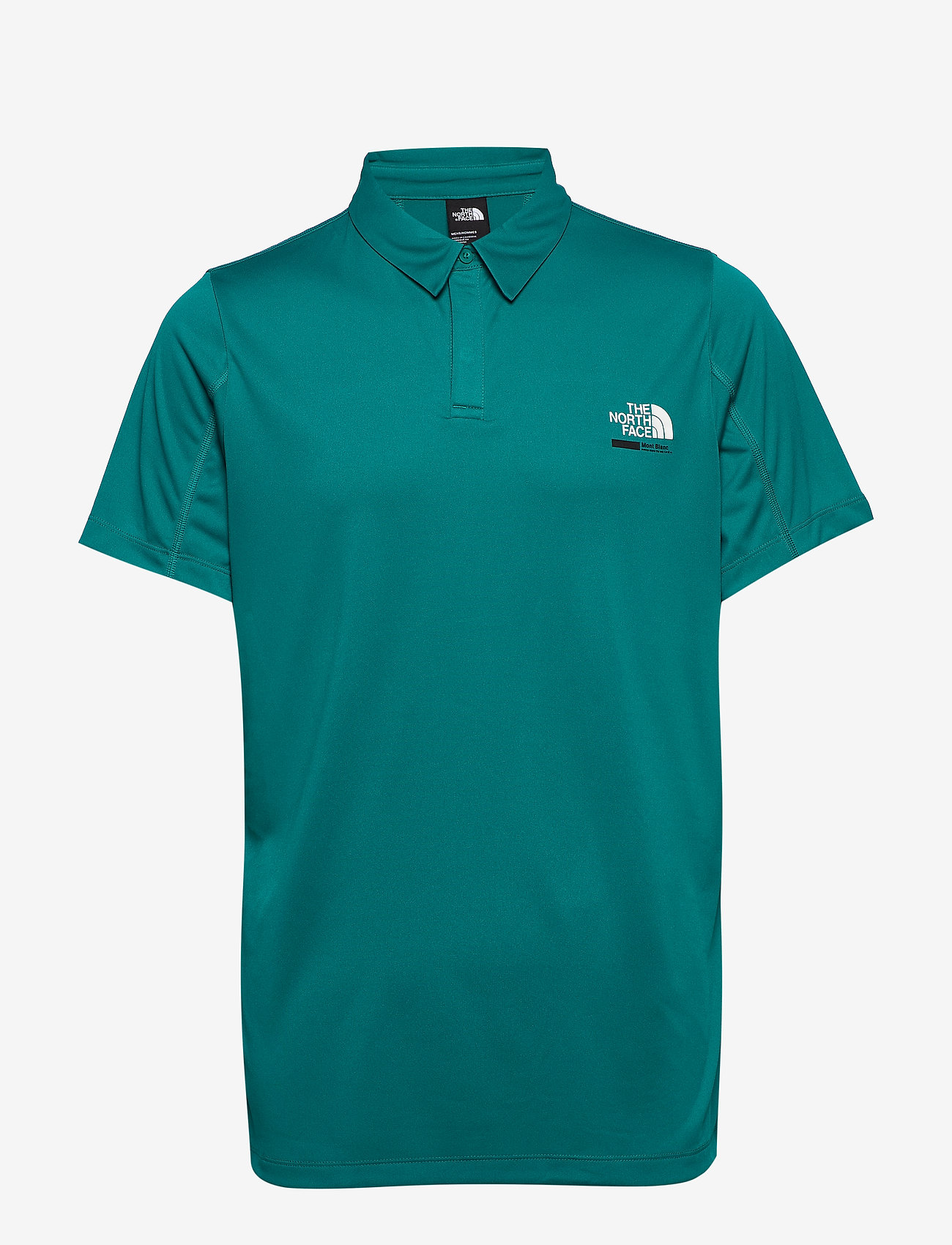 The North Face - M GLACIER S/S POLO - paidat - fanfare green - 0