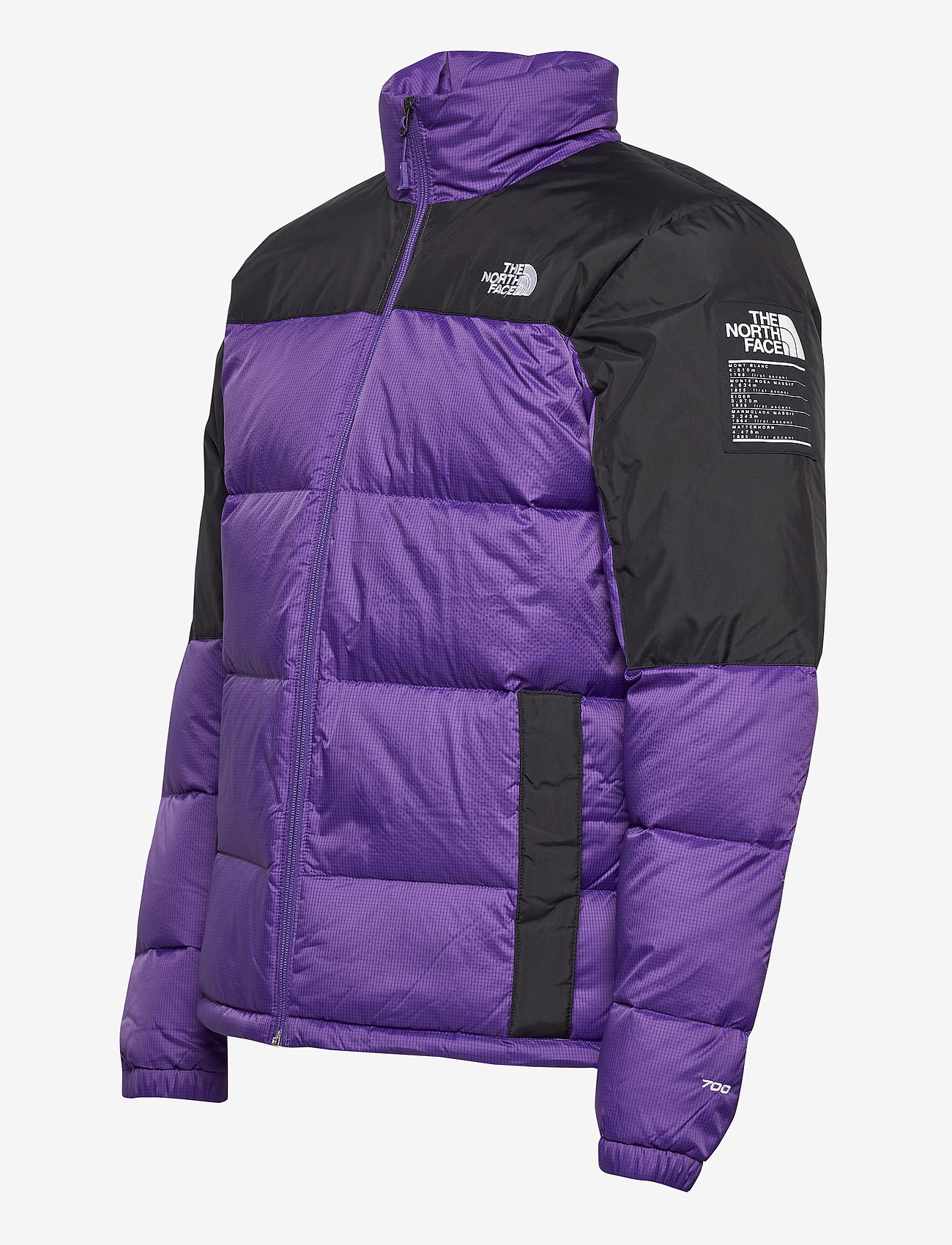 The North Face M DIABLO DWN JKT - Jakker og frakker PEAK PURPLE/TNF BLACK - Menn Klær