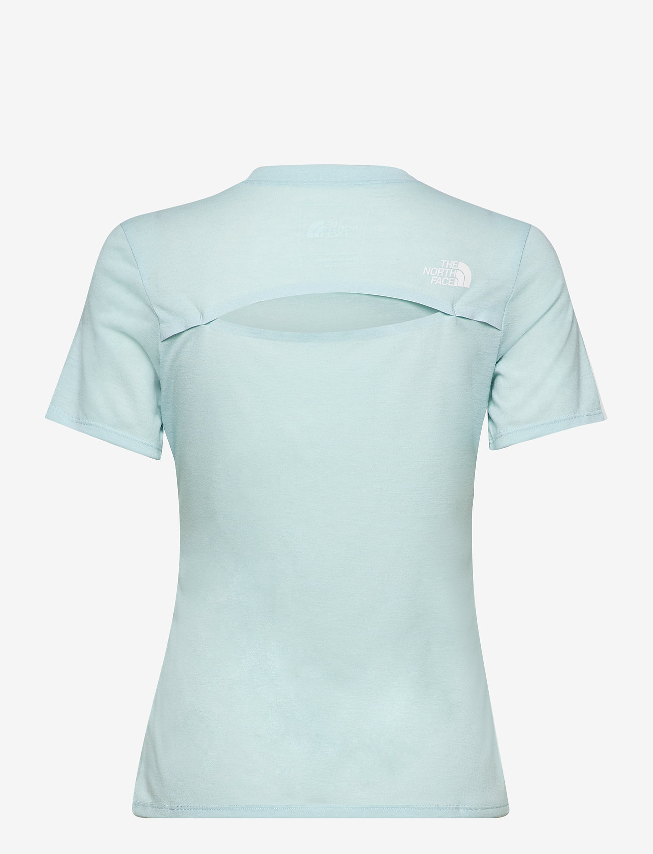 The North Face - W AT NOVELTY S/S - t-shirts - starlight blue heather - 1